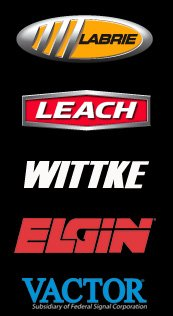 Labrie,Leach,Wittke,Elgin,Vactor Product Logos